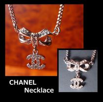 CHANEL ICON Costume Jewelry Casual Style Necklaces & Pendants