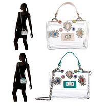 Steve Madden Casual Style PVC Clothing Shoulder Bags