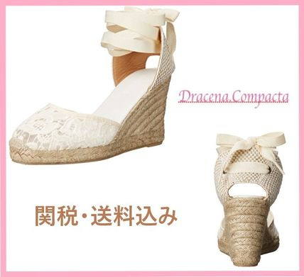 Round Toe Platform & Wedge Sandals
