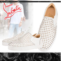 Christian Louboutin Leather Loafers & Slip-ons