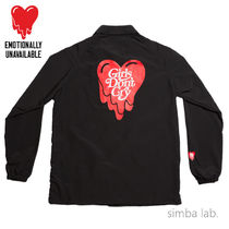 Emotionally Unavailable Short Street Style Collaboration Coach Jackets Coach Jackets