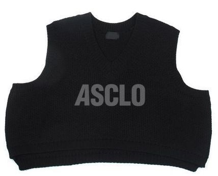 ASCLO Vests & Gillets Sleeveless Plain Oversized Vests & Gillets 7