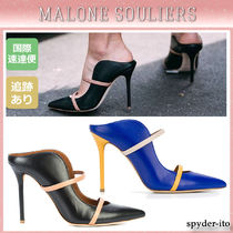 Malone Souliers Leather High Heel Pumps & Mules