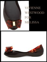 Vivienne Westwood Open Toe Casual Style Collaboration PVC Clothing