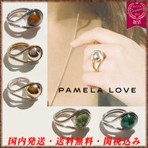 Pamela Love Casual Style Silver With Jewels Rings