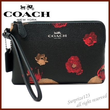 9402bda755c6f ... australia coach pouches cosmetic bags flower patterns leather pouches  cosmetic ba33d 20aa8
