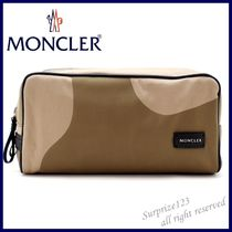 MONCLER Camouflage Nylon Clutches
