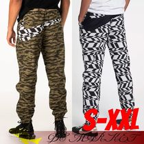 Nike Printed Pants Camouflage Street Style Khaki Patterned Pants