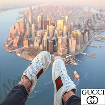 GUCCI Leather Deck Shoes Loafers & Slip-ons
