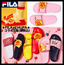 FILA Casual Style Street Style Shower Shoes Flat Sandals