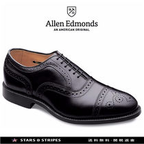 Allen Edmonds Straight Tip Plain Leather Handmade Loafers & Slip-ons