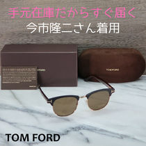 TOM FORD Unisex Combination Frame Blow Line Sunglasses