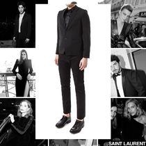 Saint Laurent Short Star Street Style Blazers Jackets