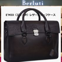 Berluti A4 Leather Handmade Business & Briefcases
