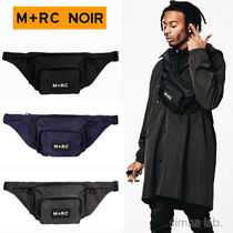 MRC NOIR Nylon Street Style Hip Packs