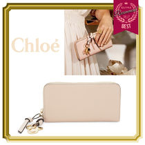 Chloe Calfskin Long Wallets