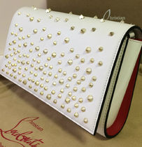 Christian Louboutin Paloma Studded Leather Shoulder Bags