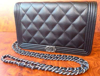 CHANEL Shoulder Bags Casual Style Leather Shoulder Bags 2