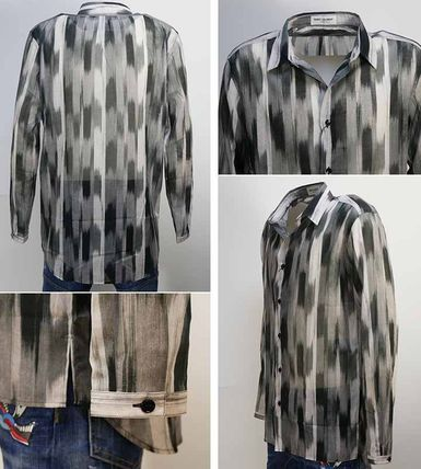 Saint Laurent Shirts Long Sleeves Cotton Luxury Shirts 3