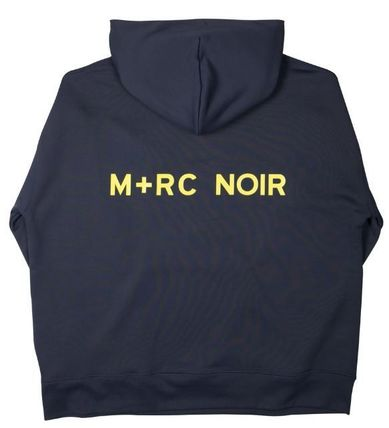 MRC NOIR Hoodies Unisex Street Style Long Sleeves Plain Cotton Hoodies 3