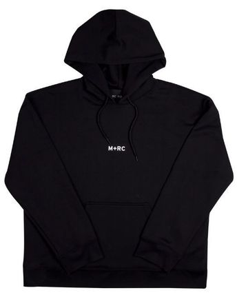 MRC NOIR Hoodies Unisex Street Style Long Sleeves Plain Cotton Hoodies 6