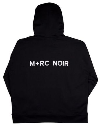 MRC NOIR Hoodies Unisex Street Style Long Sleeves Plain Cotton Hoodies 7