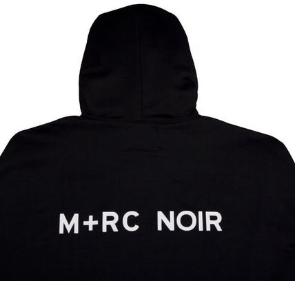 MRC NOIR Hoodies Unisex Street Style Long Sleeves Plain Cotton Hoodies 9