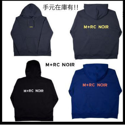 MRC NOIR Hoodies Unisex Street Style Long Sleeves Plain Cotton Hoodies