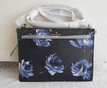 kate spade new york Flower Patterns Casual Style 2WAY Shoulder Bags