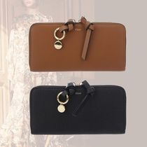 Chloe Calfskin Tassel Long Wallets