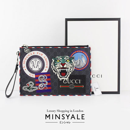 18471db69208 GUCCI Night Courrier GG Supreme pouch [new item] by MINSYALE - BUYMA