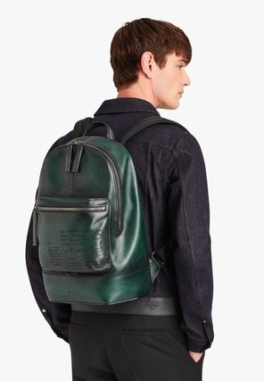 A4 2WAY Leather Backpacks