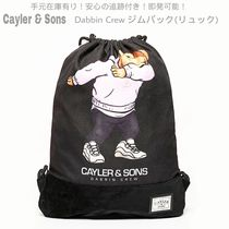 CAYLER&SONS Unisex Street Style A4 Plain Other Animal Patterns Backpacks