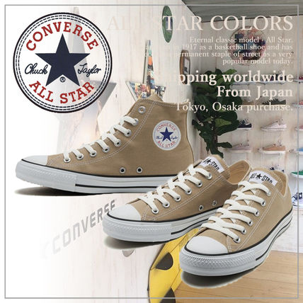 19bd39c8a2 ... CONVERSE Low-Top Casual Style Unisex Plain Low-Top Sneakers ...