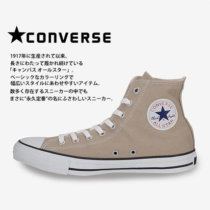 CONVERSE Low-Top Casual Style Unisex Plain Low-Top Sneakers 2