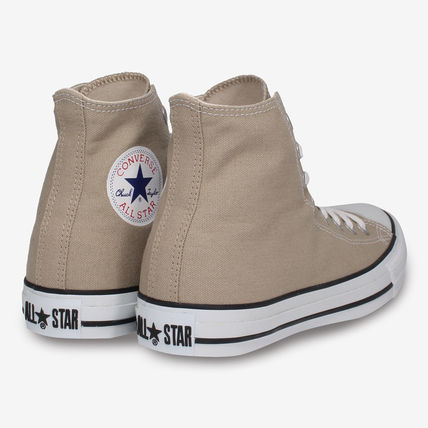 CONVERSE Low-Top Casual Style Unisex Plain Low-Top Sneakers 6