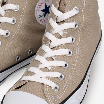 CONVERSE Low-Top Casual Style Unisex Plain Low-Top Sneakers 9