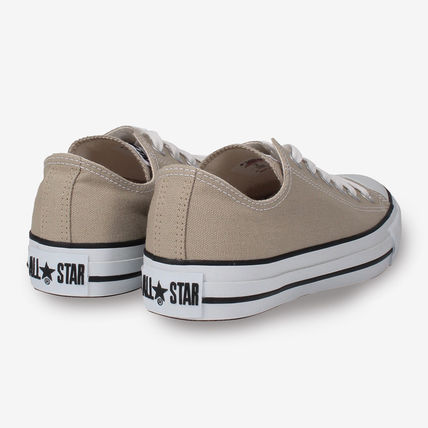 CONVERSE Low-Top Casual Style Unisex Plain Low-Top Sneakers 12