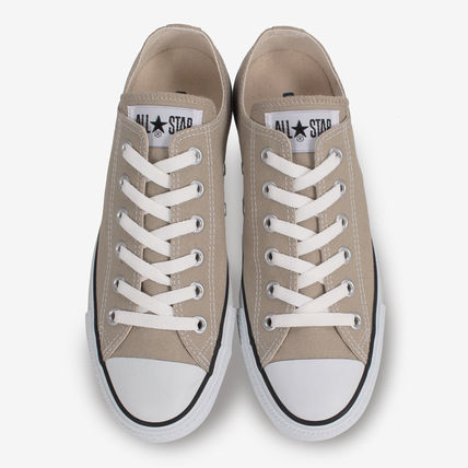 CONVERSE Low-Top Casual Style Unisex Plain Low-Top Sneakers 13