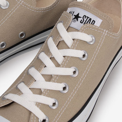 CONVERSE Low-Top Casual Style Unisex Plain Low-Top Sneakers 15