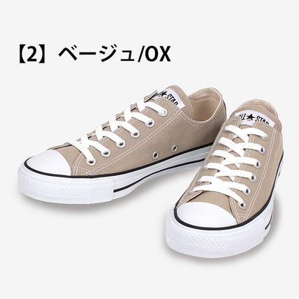 CONVERSE Low-Top Casual Style Unisex Plain Low-Top Sneakers 10