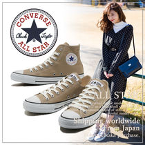 CONVERSE ALL STAR Casual Style Unisex Plain Low-Top Sneakers