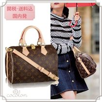 Louis Vuitton SPEEDY 18SS MONGRAM SPEEDY BANDOULIERE 25 / 2WAY BOSTON BAG
