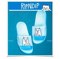 RIPNDIP Unisex Faux Fur Street Style Plain Other Animal Patterns