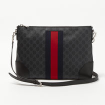 GUCCI Unisex Party Style PVC Clothing Shoulder Bags