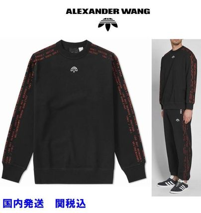 Crew Neck Sweat Collaboration Long Sleeves Sweatshirts