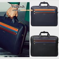 Paul Smith Stripes 3WAY Plain Leather Business & Briefcases