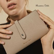 Massimo Dutti Leather Long Wallets