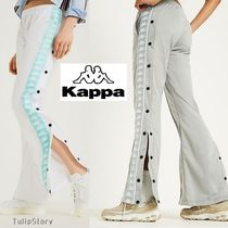 Kappa Casual Style Street Style Long Bottoms