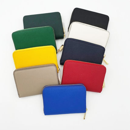 Saffiano Plain Card Holders